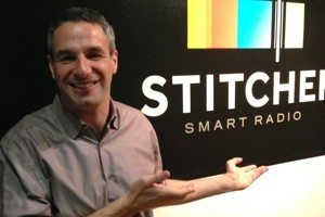 Noah Shanok, founder and CEO of Stitcher