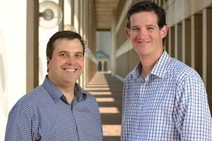Cloze founders Dan Foody (left) and Alex Coté (right)