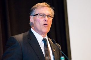 Gov Jay Inslee at WCTA conference