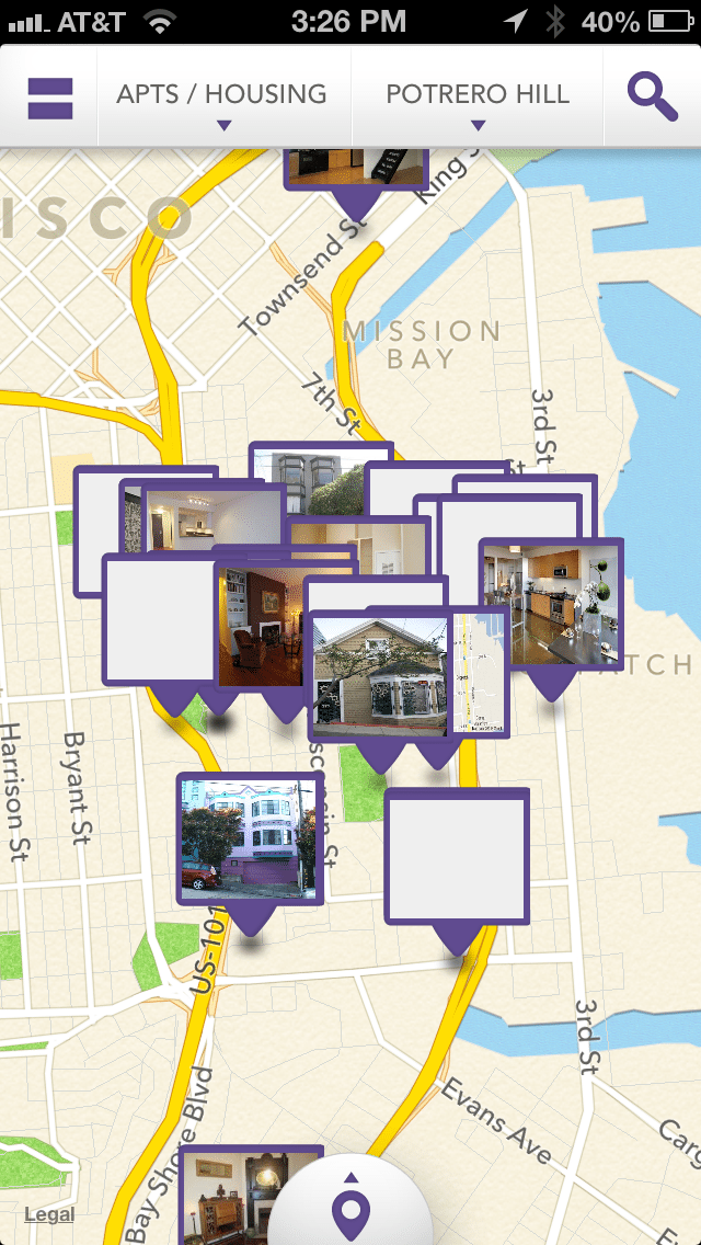 Apartment Hunting: Map View