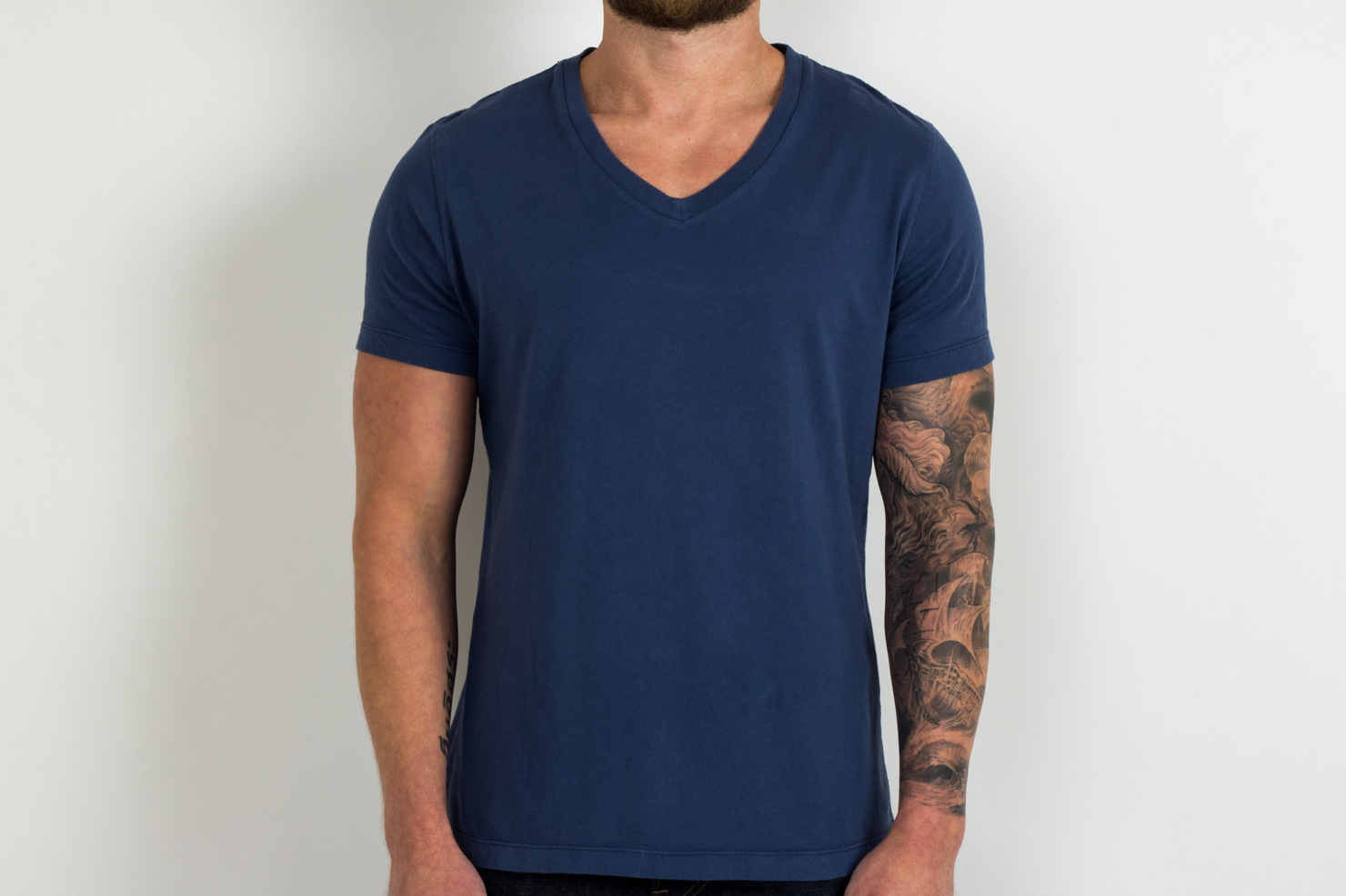 Pistol Lake V-neck T-shirt