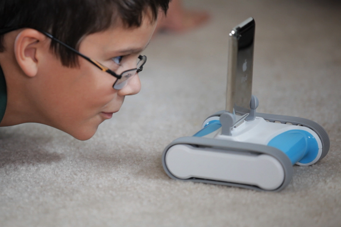The Romo iPhone robot from Romotive