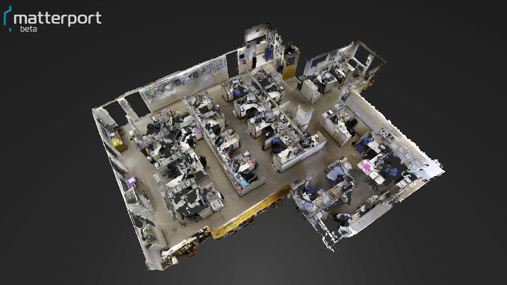 Planet 9's model of Stanford Hospital work area