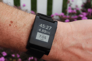 Pebble RunKeeper Wrist