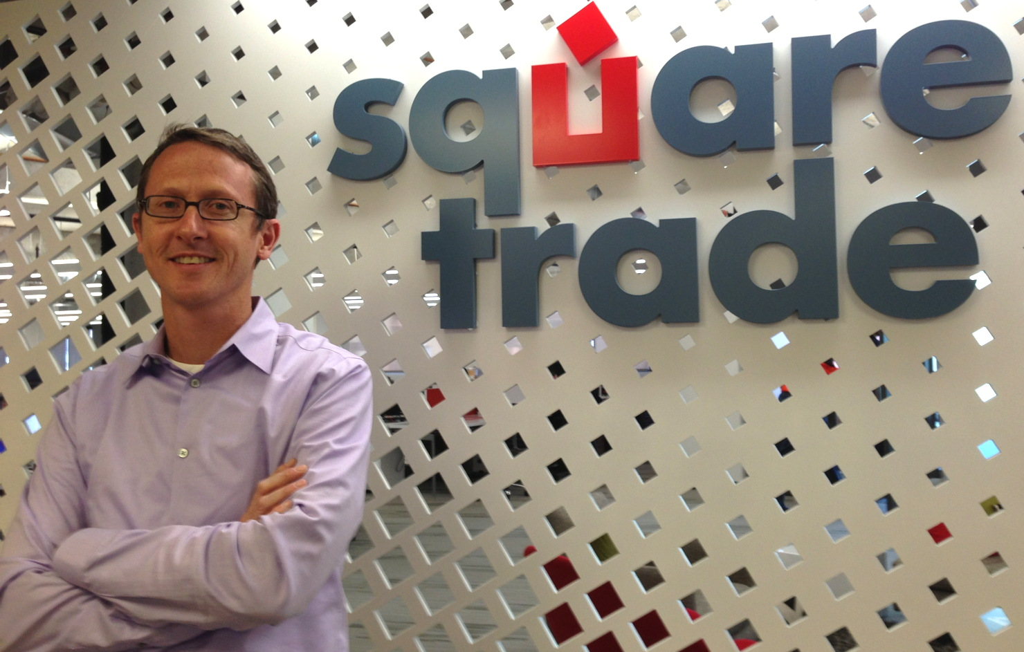 Steve Abernethy, co-founder and CEO of SquareTrade