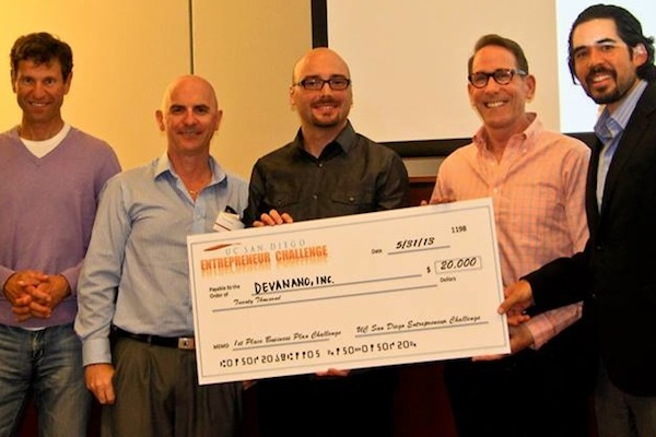 "UCSD ""Entrepreneur Challenge"" Awards Top Honors to DevaNano, GrollTex"