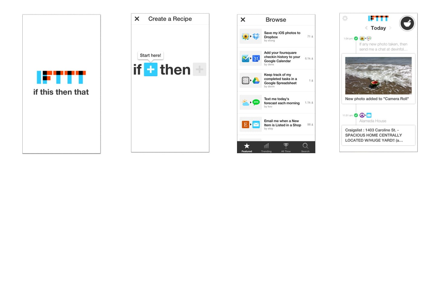 7. Make Your Apps Talk to Each Other with IFTTT