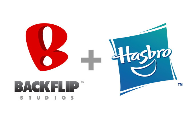 Backflip and Hasbro team up