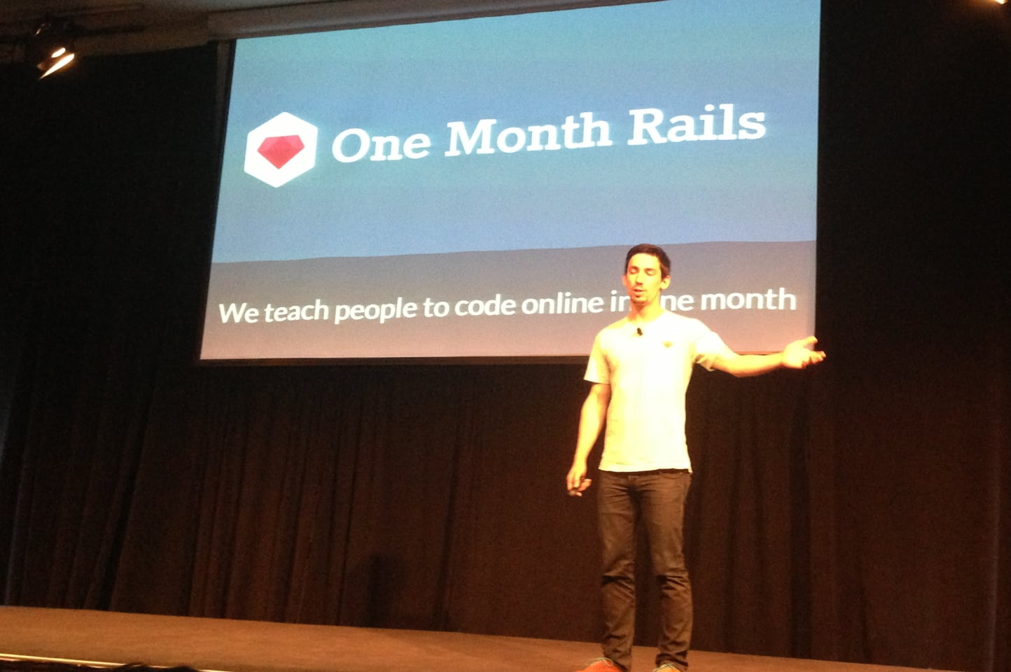 One Month Rails