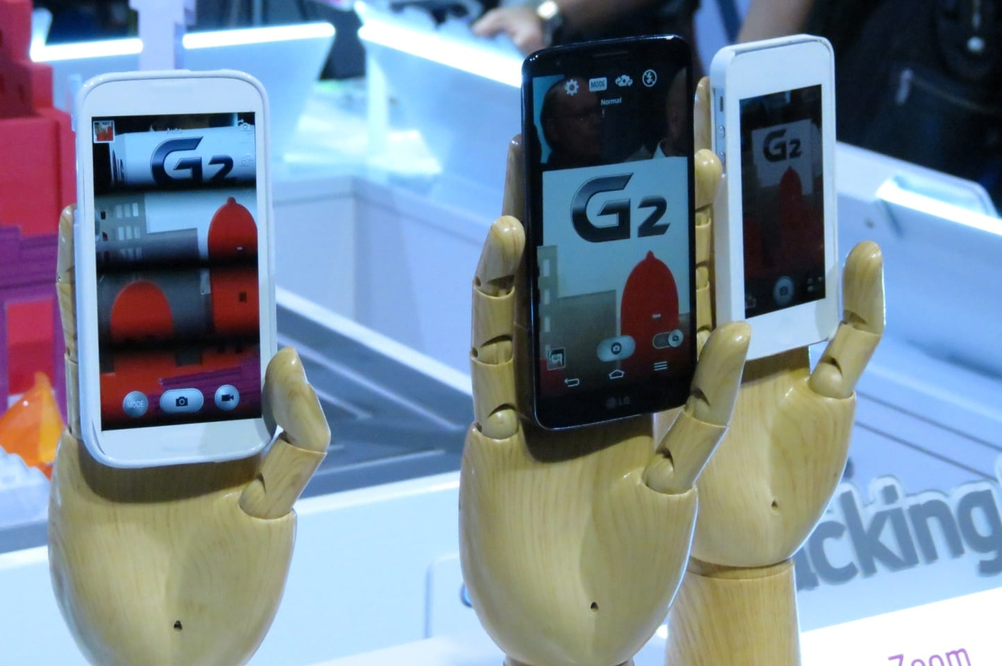 LG G2 and its Rivals