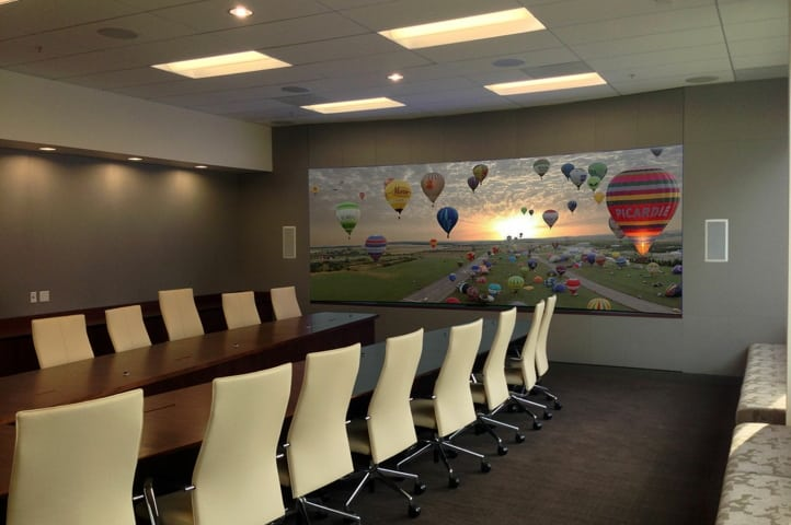 Larger Conference Room Video Wall