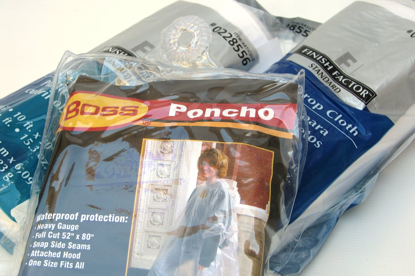 Poncho and Drop Cloth
