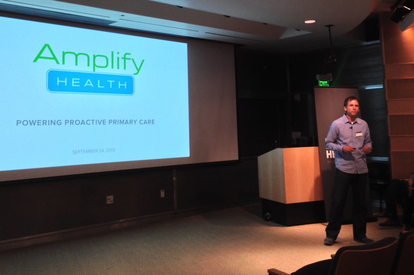 "Amplify Health works with physician groups, health systems, and self-insured employers to reduce avoidable healthcare costs by combing through electronic medical records and claims data to highlight ""the difference between what should have happened and what actually happened,"" says CEO Eric Page."