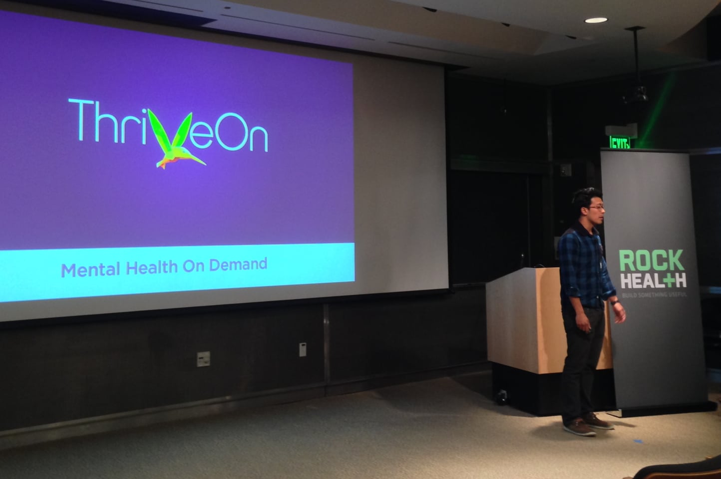 """ThriveOn is developing a Web- and mobile-based programs designed to make methal health treatment more accessible to patients. Algorithms assess patients' answers to questionnaires and match them with reading material, videos, surveys, and journaling tools, backed by a remote coach who """"delivers feedback and ensures high compliance,"""" says co-founder Alejandro Foung."""