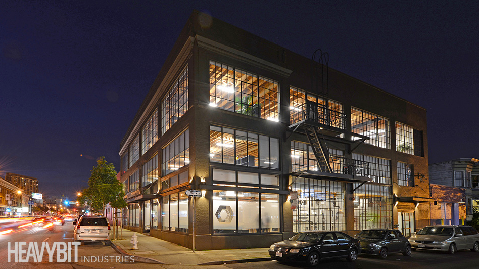 The Heavybit Industries building at 325 9th Street in San Francisco.