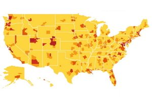 Density of ICT Startup in the United States - Source: Ian Hathaway