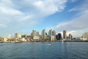 San Diego Bay, Downtown San Diego
