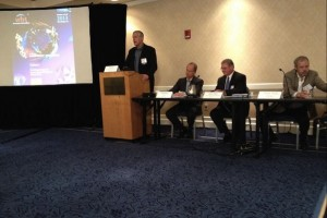 Bill Reichert of Garage Technology Ventures moderates WBT Innovation Marketplace panel