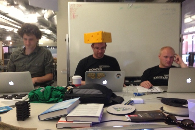 Cheeseheads at Techstars