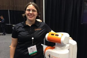 Melonee Wise, co-founder and CEO of Unbounded Robotics