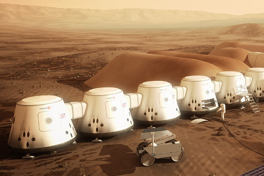 Mars One Base - Artist's Conception