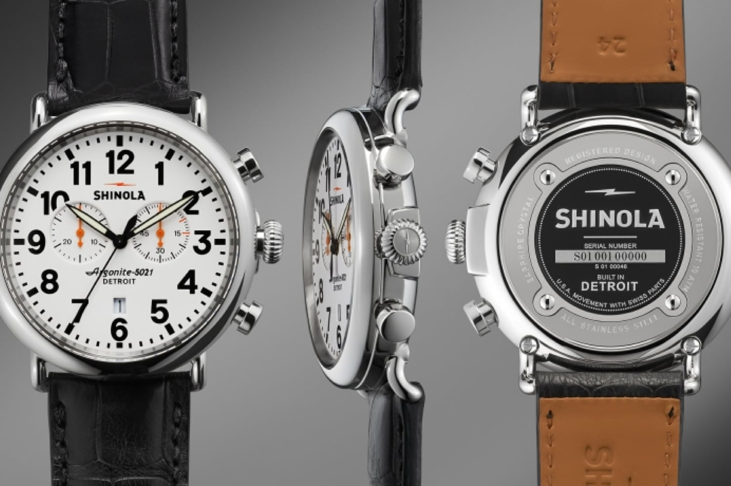 Shinola Runwell Chrono Watch