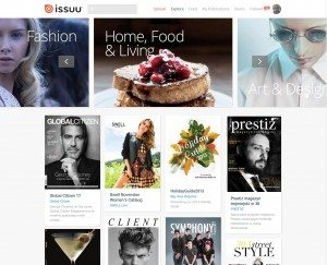 "Issuu's new ""Explore"" page leads readers to publications the startup thinks they'll like."