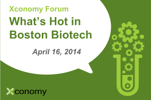 What's Hot in Boston Biotech: Here's the Agenda for April 16