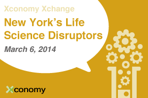 "Join Us, And New York's ""Life Science Disruptors,"" On March 6"
