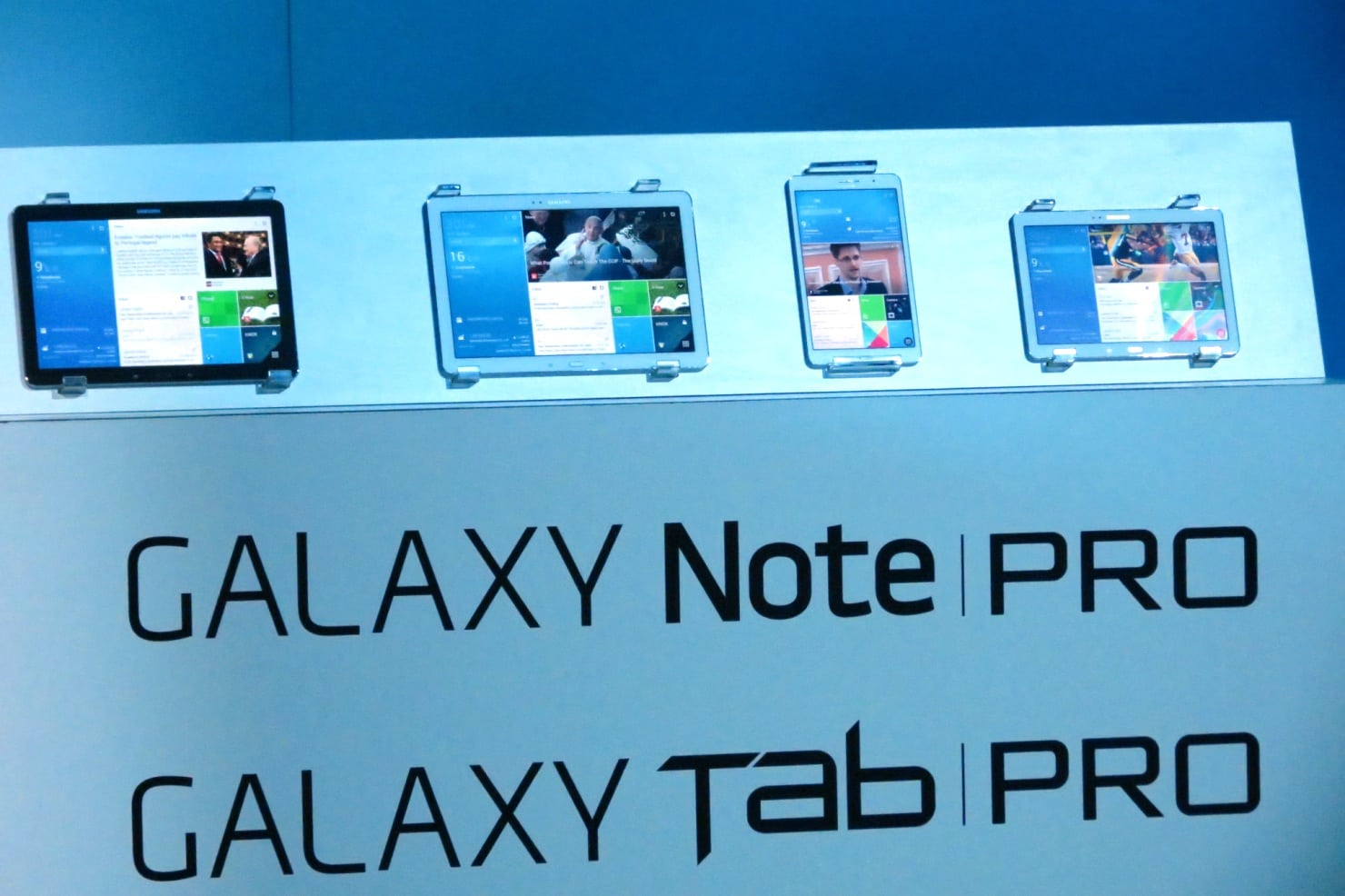 A Flotilla of New Tablets