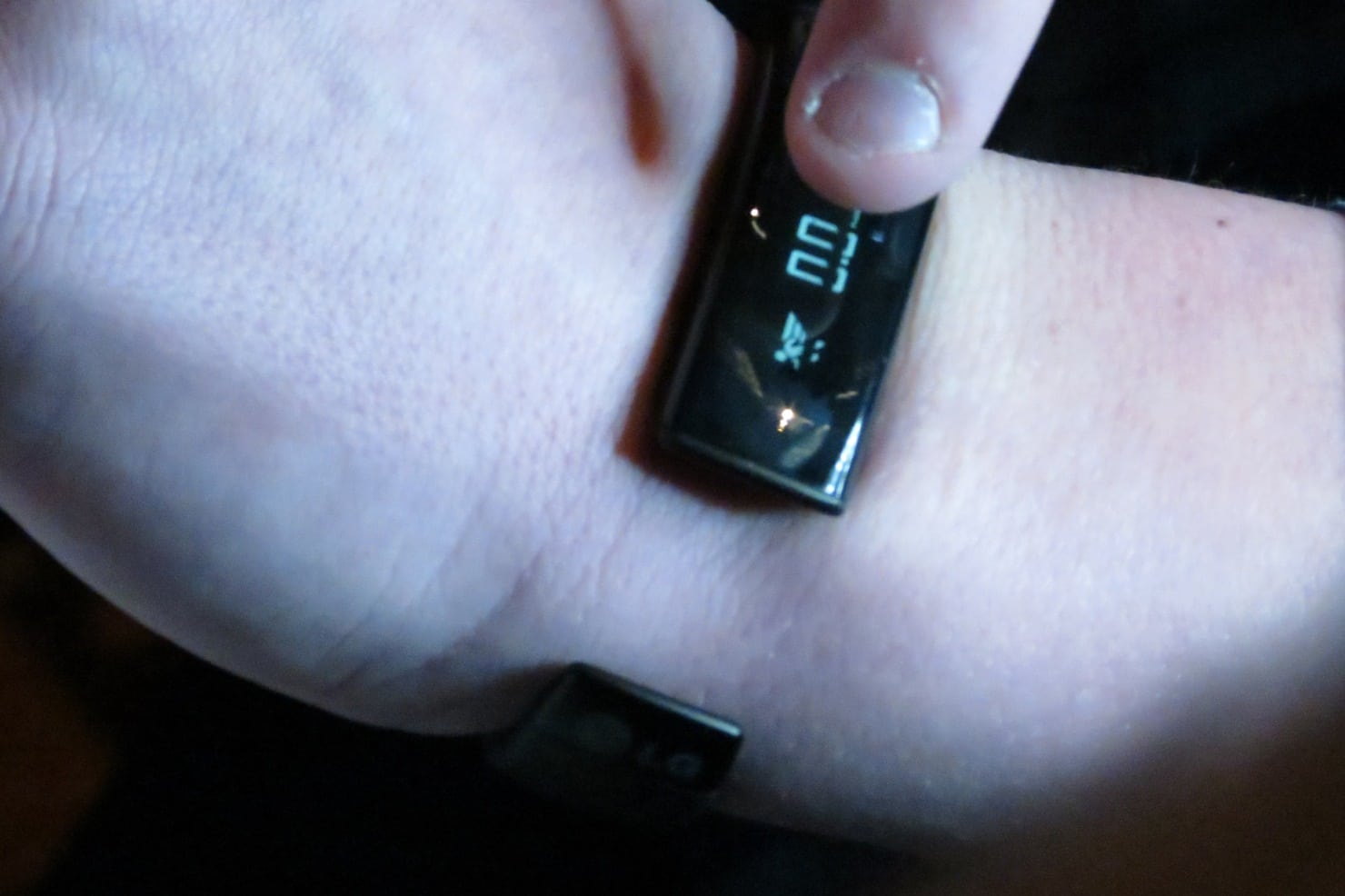 OLED Display on Lifeband Touch