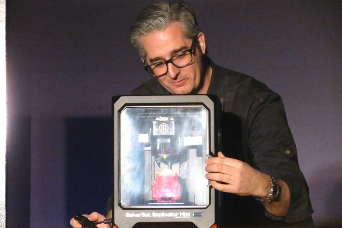 MakerBot Went Big (and Small) at CES with New Lines of 3D Printers