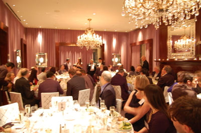 Last night's awards ceremony at the Clift Hotel in San Francisco