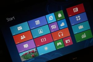 Windows 8. Image by Comedy_nose, Flickr Creative Commons attribution.