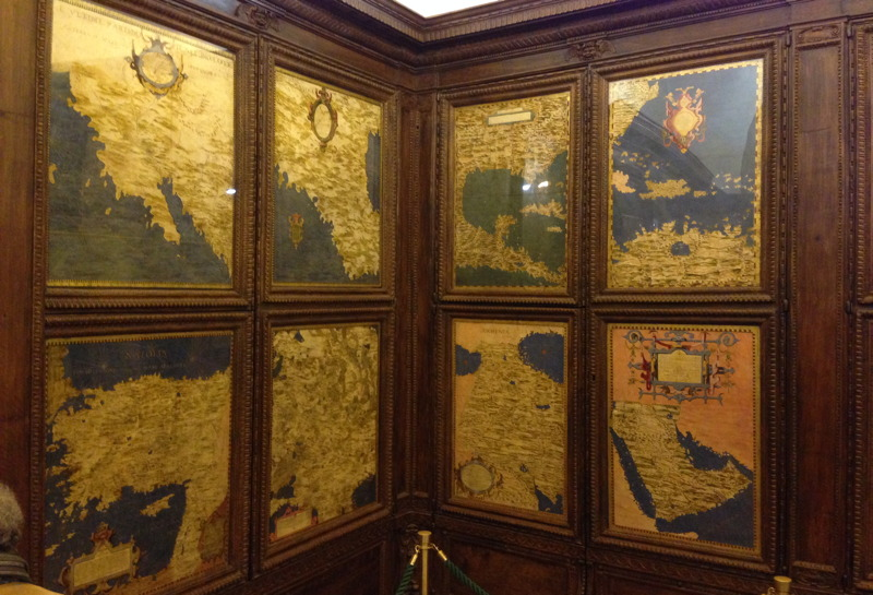 The Hall of Maps in Florence's Palazzo Vecchio