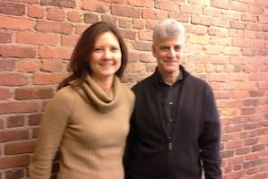 Springpad CEO Jacqueline Hampton and co-founder Jeff Janer