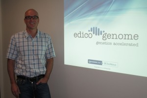 Edico Genome CEO Pieter van Rooyen (Xconomy Photo by BVBigelow)