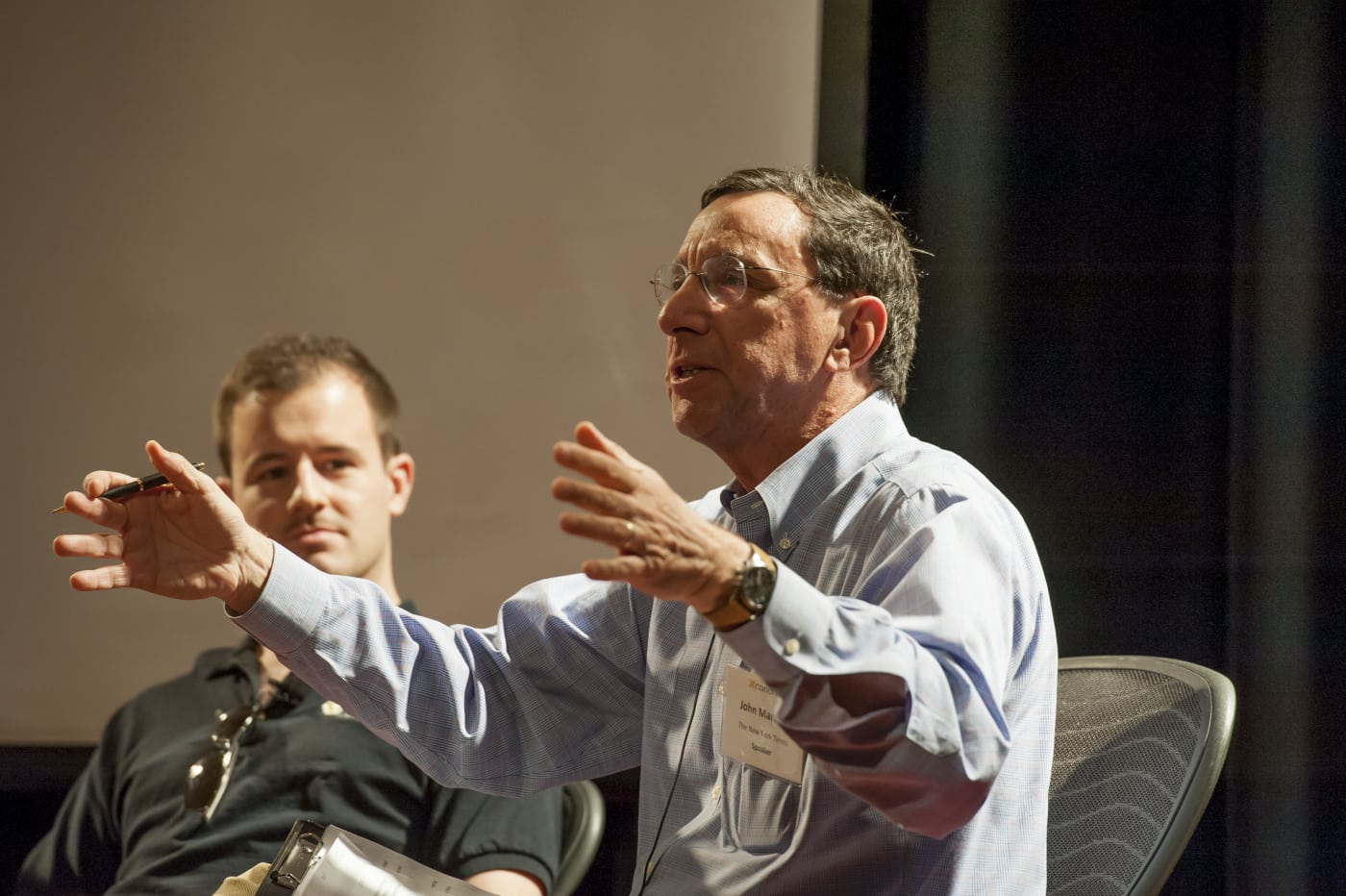 The New York Times' John Markoff