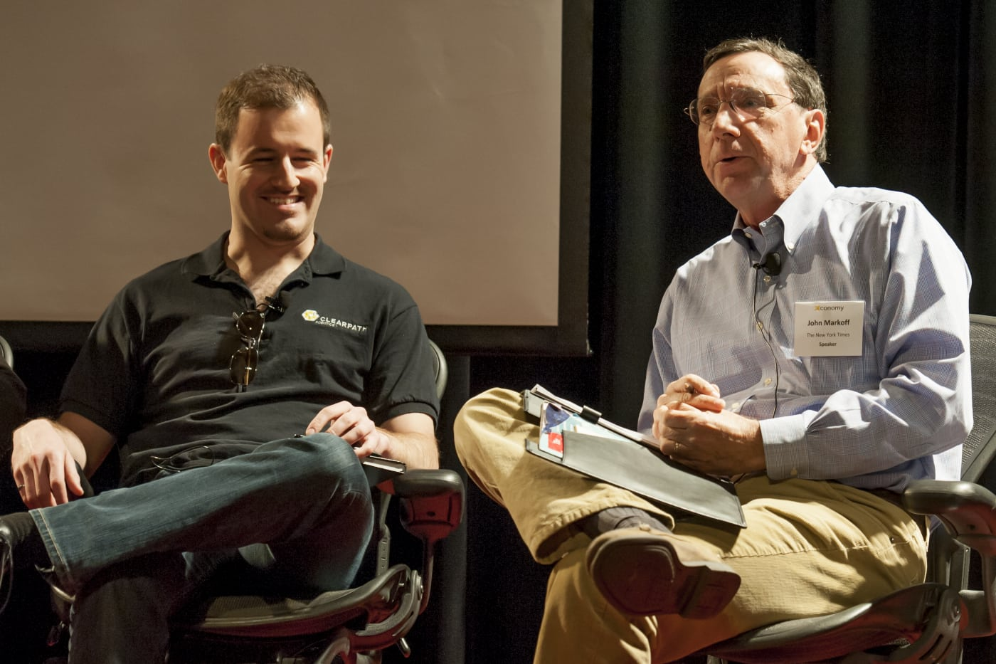 Ryan Gariepy, Clearpath, with John Markoff