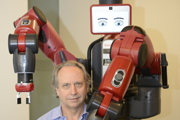 Rodney Brooks and Baxter, Rethink Robotics' flagship robot