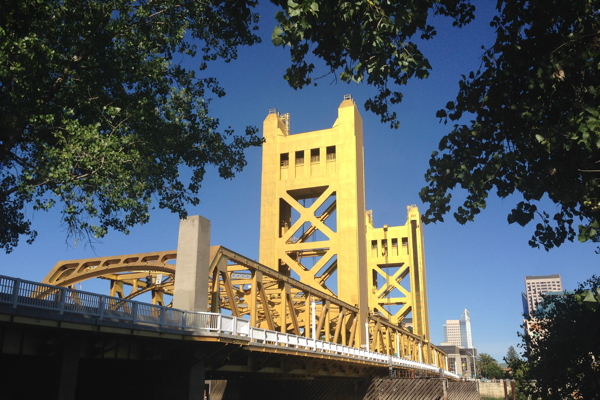 Sacramento's Tower Bridge was built in 1935.