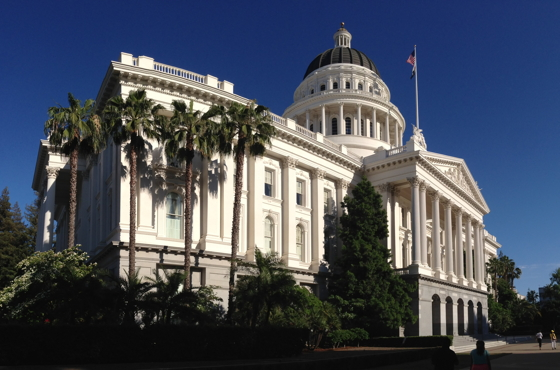 The California State Capitol was built between 1861 and 1874. Today, the state government is by far the Sacramento region's largest employer, with almost 70,000 workers. While the overall number fluctuates depending on the economy, government offices employ between 23 and 28 percent of Sacramento's workforce, according to SARTA chief Meg Arnold.