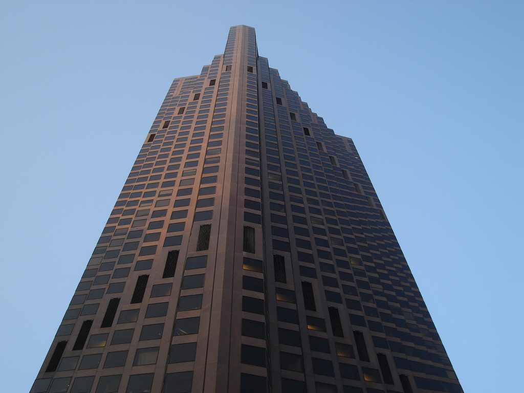 The former Bank of America Tower in San Francisco. Source: Mike Linksvayer/Flickr.