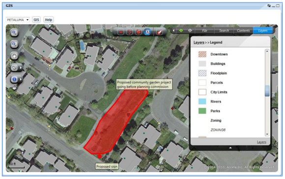 """Accela GIS, one of Accela's """"civic cloud"""" offerings, lets agencies manipulate geospatial data."""