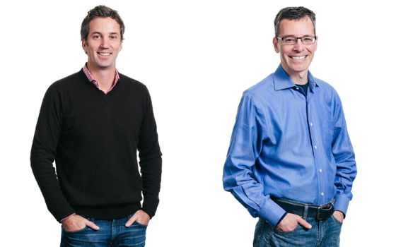 Xero's U.S. president Jamie Sutherland (left) and its CEO Peter Karpas (right).