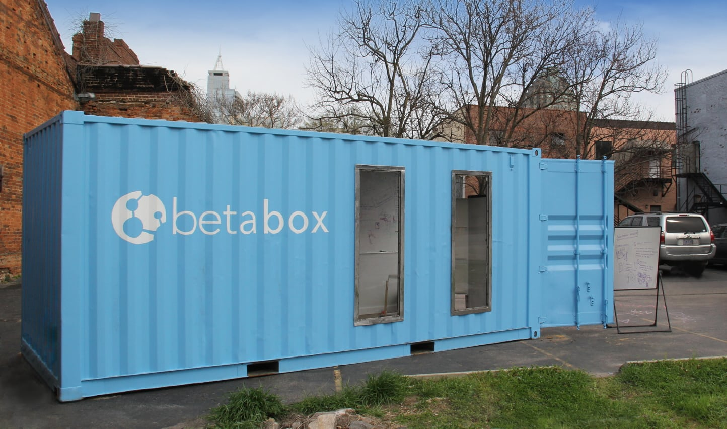 The First Betabox from Betaversity