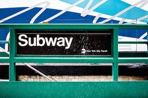 Subway sign NYC (courtesy depositphotos littleny)