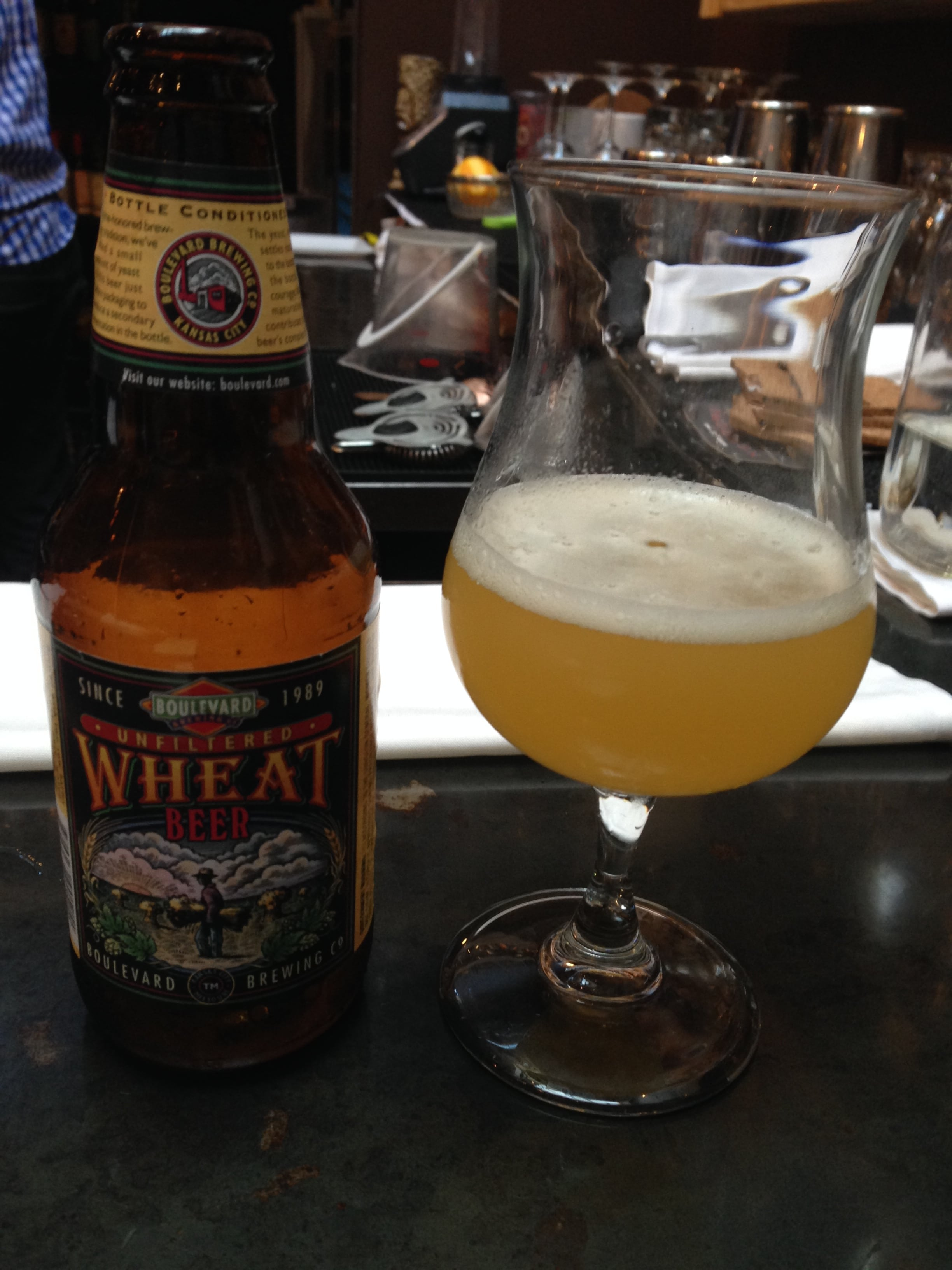 Boulevard Unfiltered Wheat