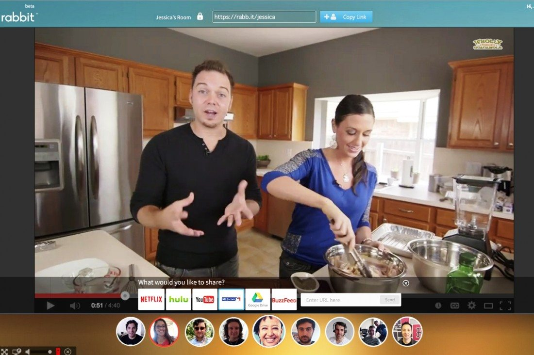 Video Chatting and Watching Gets a Social Makeover from Rabbit