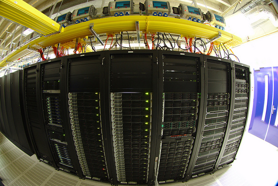 Data Center fish eye